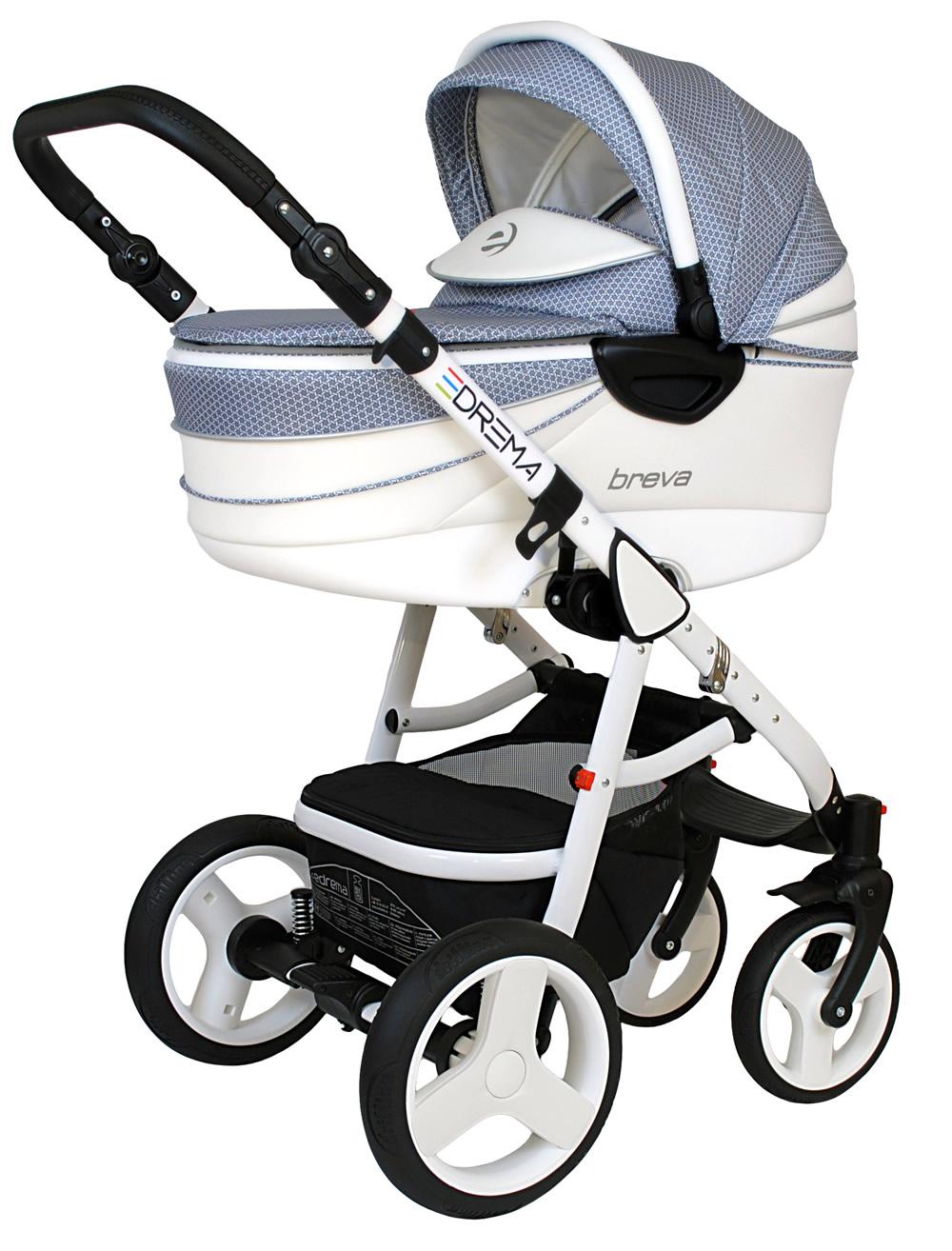 Breva Premium Kombi-Kinderwagen 3 in 1 mit Babyschale / BP3