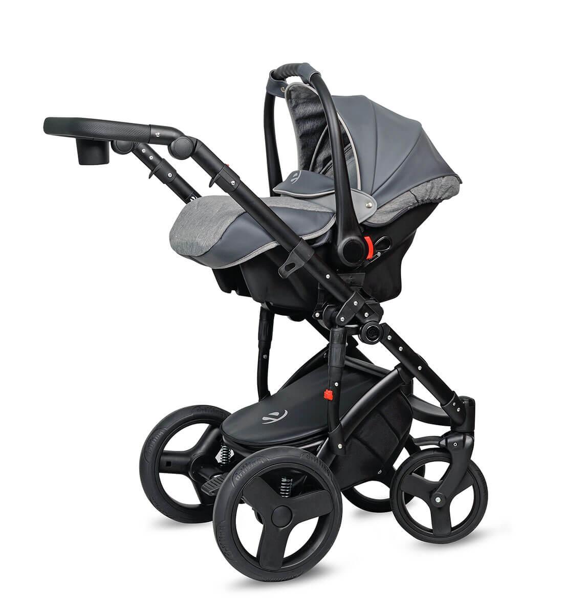 Breva Quanto Kombi-Kinderwagen 2 in 1 ohne Babyschale / QU4