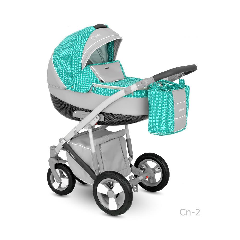 Camarelo Canillo Kombi-Kinderwagen 2 in 1 ohne Babyschale / CN2