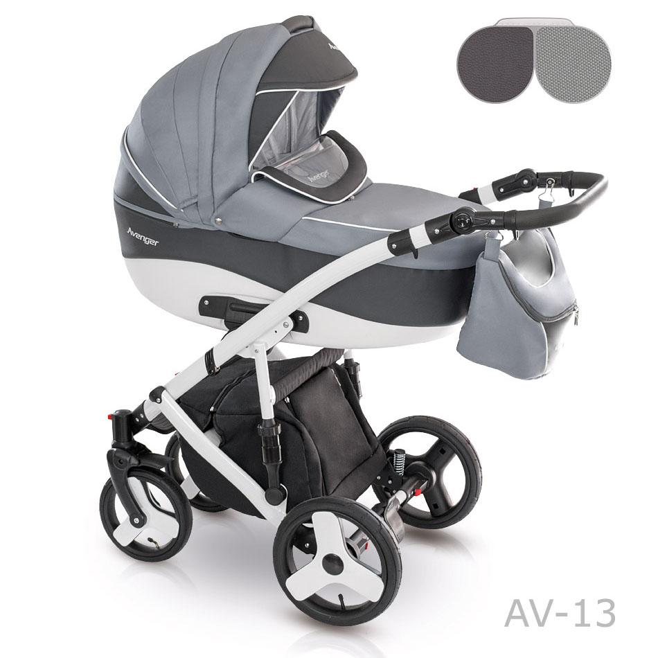 Camarelo Avenger Kombi-Kinderwagen 3 in 1 mit Babyschale / AV13