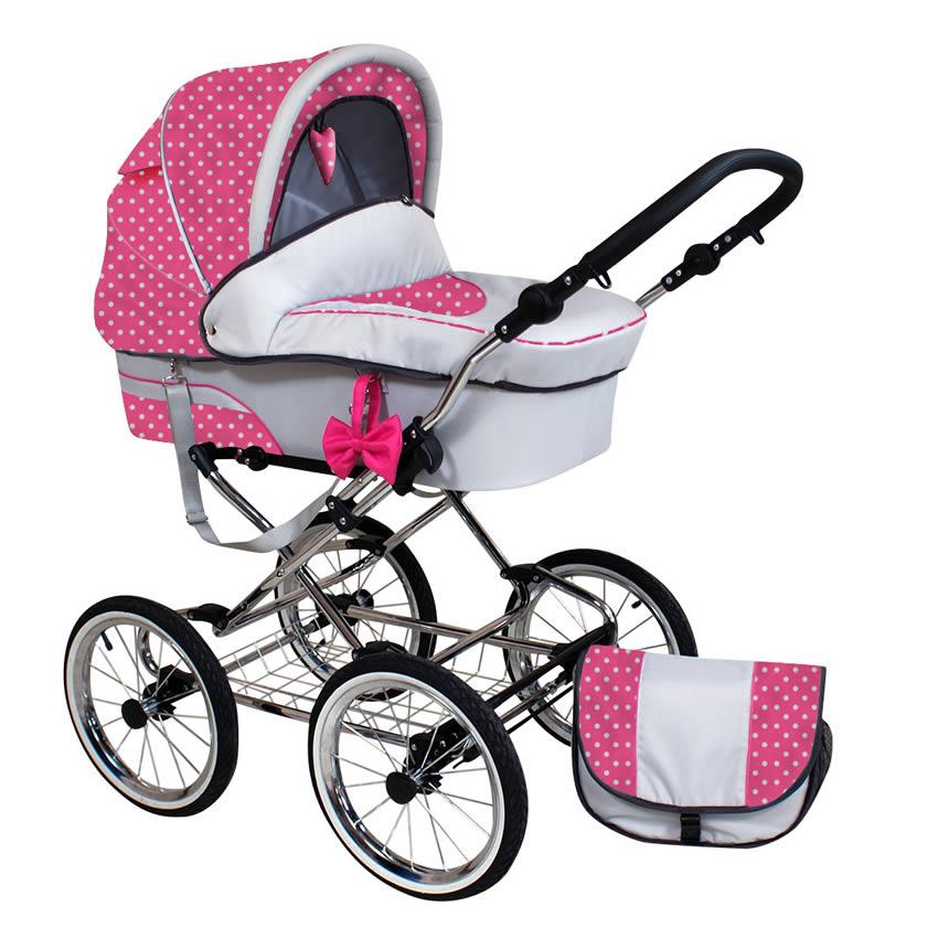 Pretty Woman Kombi-Kinderwagen 3 in 1 mit Babyschale / P6