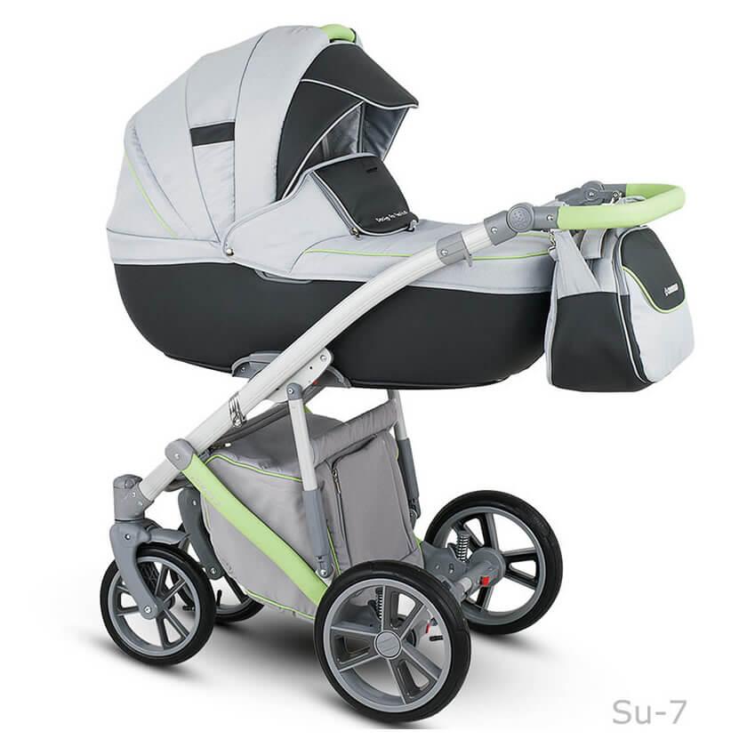 Camarelo Sudari Kombi-Kinderwagen