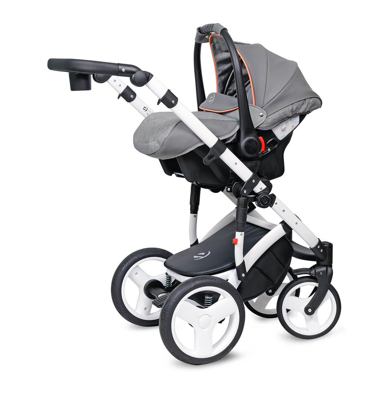 Breva Quanto Kombi-Kinderwagen 3 in 1 mit Babyschale / QU5