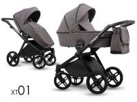 Lonex Emotion XT Kombi Kinderwagen 2 in 1 ohne Babyschale|XT 01